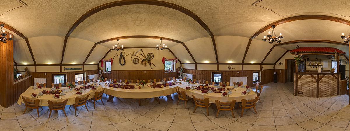 360&deg Panorama Gaststätte Waldfrieden Aue