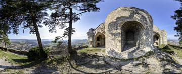 360° Panorama Festungsruine Singen Hohentwiel
