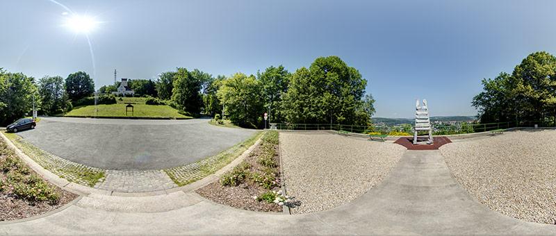 360&deg Panorama Aussichtspunkt Parkwarte-Aue